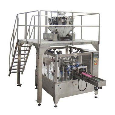 sac de fermeture à glissière automatique de machine à emballer de nourriture