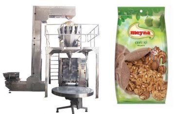 machine d'emballage verticale des noix